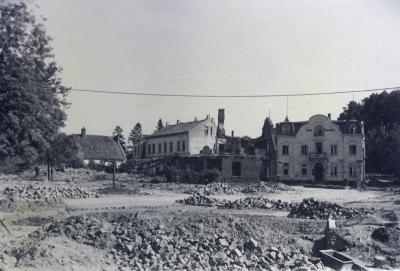 Oldesloer Salzberg nach dem Angriff