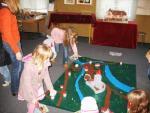 Spielmodell des mittelalterlichen Oldesloe. Junge und alte Stadtplaner sind gefragt