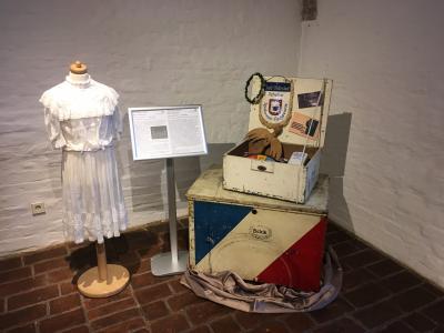 Der Koffer des Oldesloer Heimatmuseums