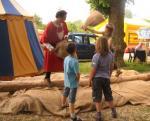 Was für ein Spaß - und da heißt es immer, Kinder bewegen sich nicht gerne!